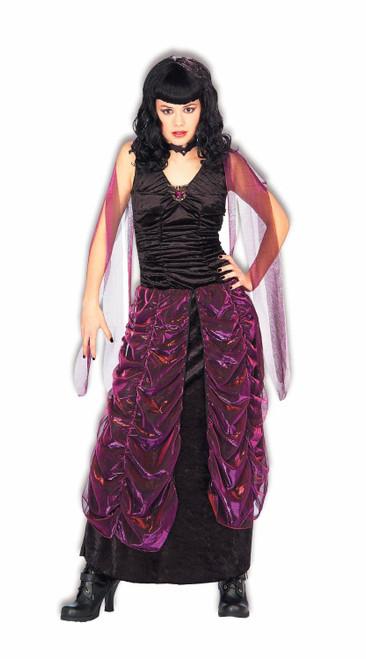 VAMPIRESS girls halloween goth vamp vampire costume gothic TEEN