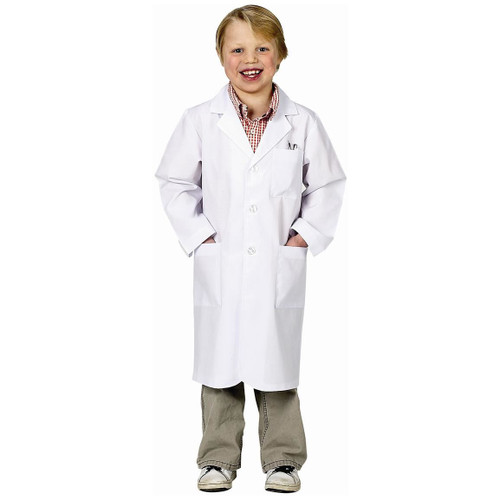Jr. Kids Lab Coat 3/4 Length Scientist Toys by Aeromax