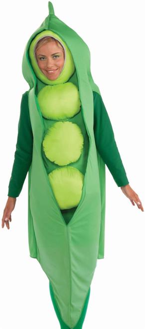 PEA POD tunic green vegetable soup food adult funny food halloween costume