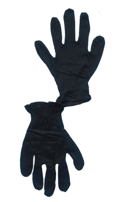 black GLOVES disco theatrical show biz mens womens adult halloween  costume