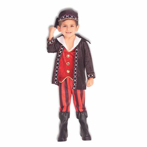 PIRATE BUCCANEER boys toddler halloween costume S  4-6