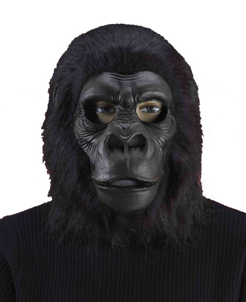 Black Gorilla Mask Adult