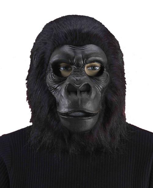 Black Gorilla Mask Adult