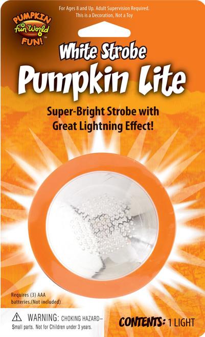 Pumpkin Light Strobe Effect Decoration halloween decor blinking prop