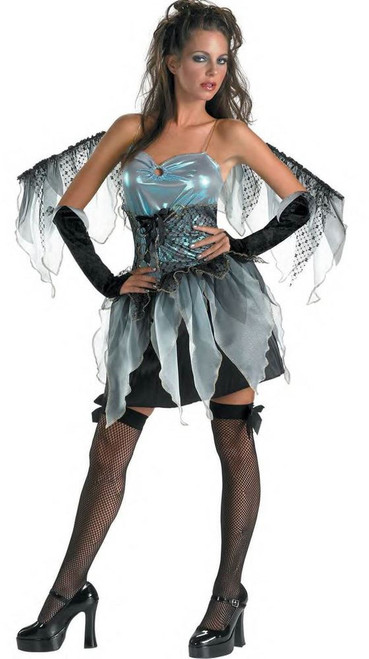 DARK ANGEL frost fairy girls teen womens sexy nymph halloween costume 7 9