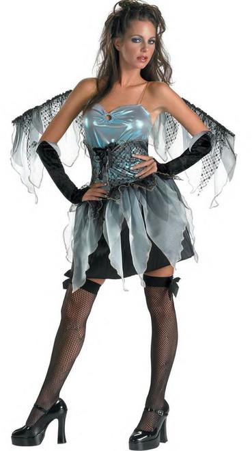 DARK ANGEL frost fairy girls teen womens sexy nymph halloween costume 7 9