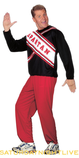 Spartan Cheerleader Saturday Night Live 90s SNL adult mens male funny couples halloween costume