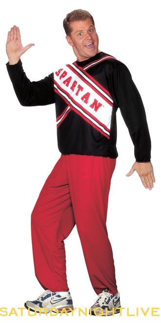 SPARTAN CHEERLEADER 90s SNL adult mens male funny couples halloween costume