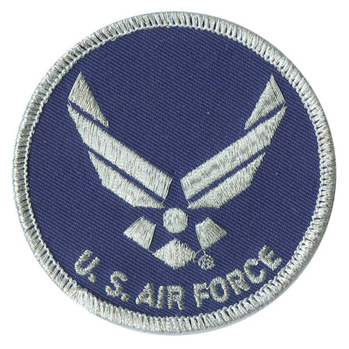 new AIR FORCE EMBLEM PATCH USA embroidered iron on military boys adult costume