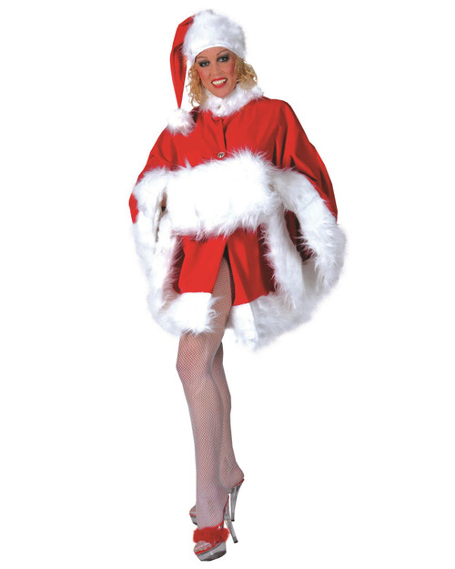 Santa's Sweetie Womens Christmas Costume One Size