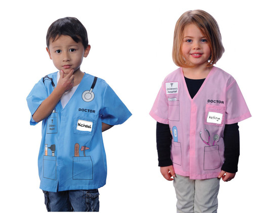 Kids Career Doctor My 1st Career Dress Up Toy Costume Ages 3-6
