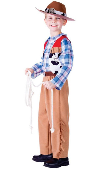 Western Cowboy Boys'/Toddler Costume