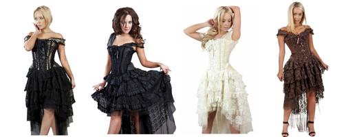 Ophelie Corset Dress Cosplay by Burleska