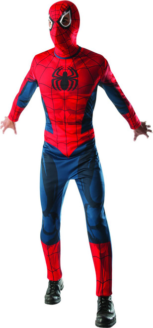Muscle Chest Adult Mens Spider-Man Costume