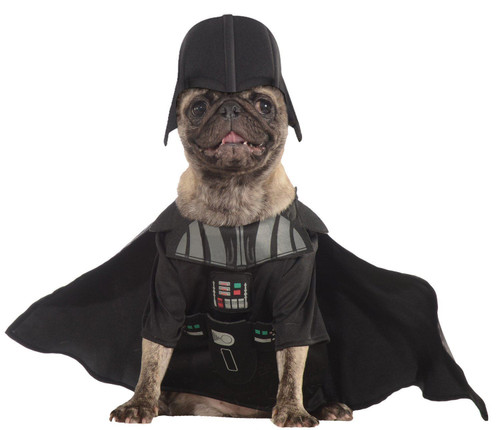 Darth Vader Star Wars Jumpsuit Pet dog cat animal halloween costume