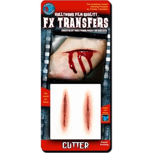 Cutter Wound Tattoo Tinsley Transfers