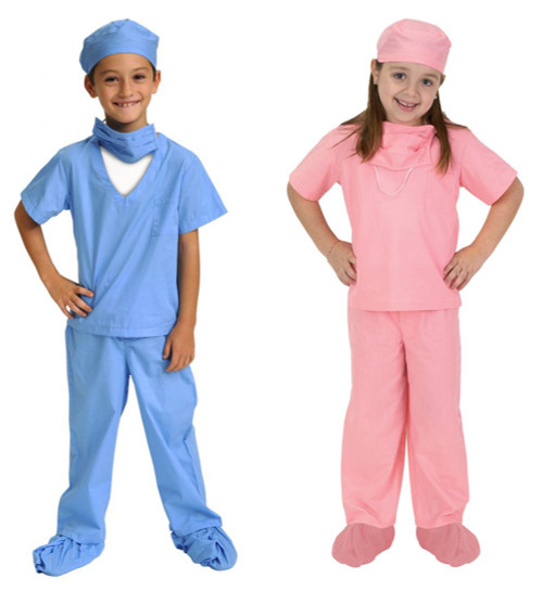 Jr. Scrubs Kids Doctor Costume by Aeromax