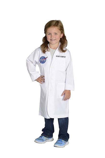 Jr. NASA Rocket Scientist Lab Coat Child Science Eingineering