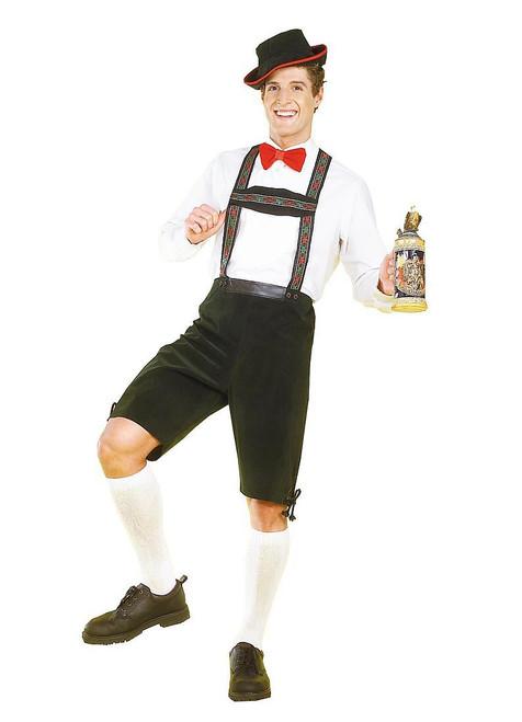 HANSEL yodler Oktoberfest german beer lederhosen bavarian mens halloween costume
