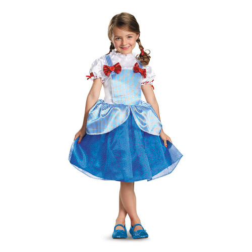 Dorothy Wizard of OZ girls kids Halloween costume
