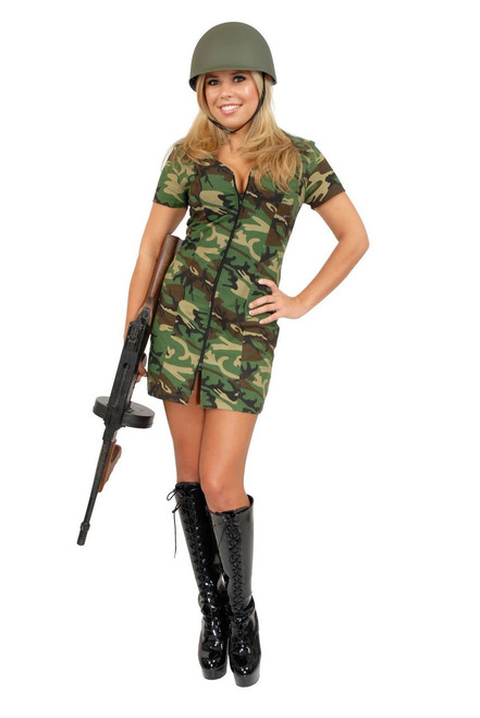 Women's G.I. Army Gal Costume