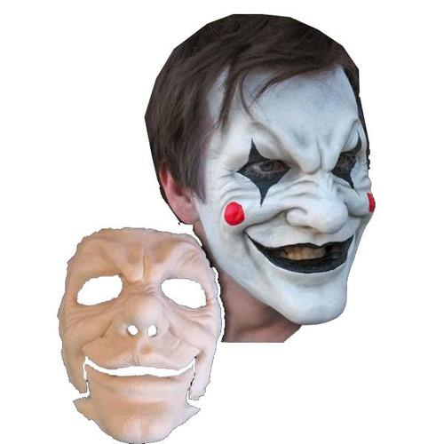 Jester Foam Latex Mask Prosthetic Professional Grade
