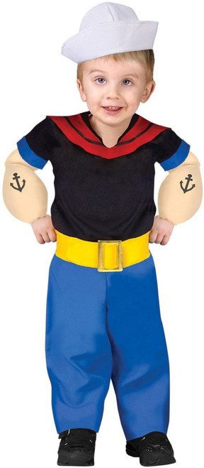 Popeye the Sailor Toddler Boy's Costume