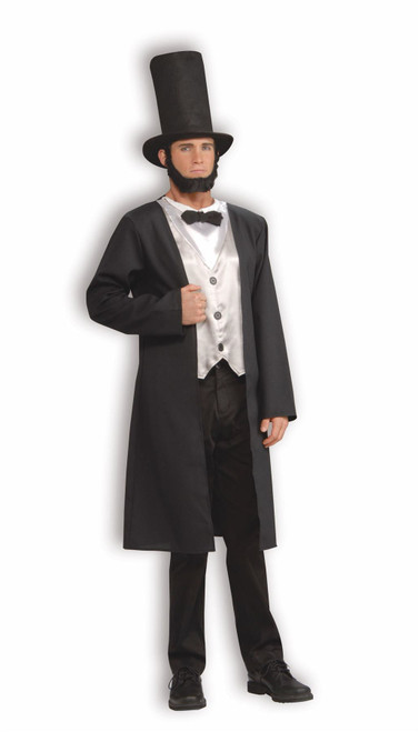 ABE LINCOLN abraham honest historical president mens adult halloween costume