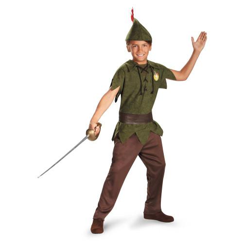 PETER PAN robin hood neverland Disney boys child halloween costume toddler 3T 4T