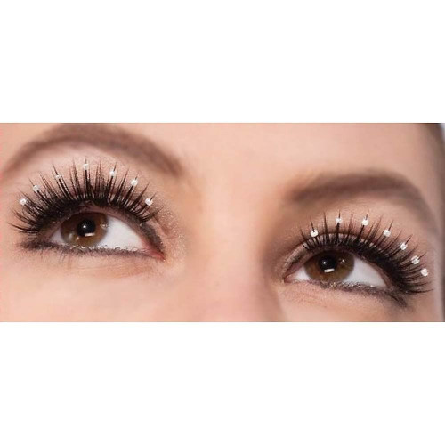 Vintage Hollywood lashes eyelashes adult womens costume accessory