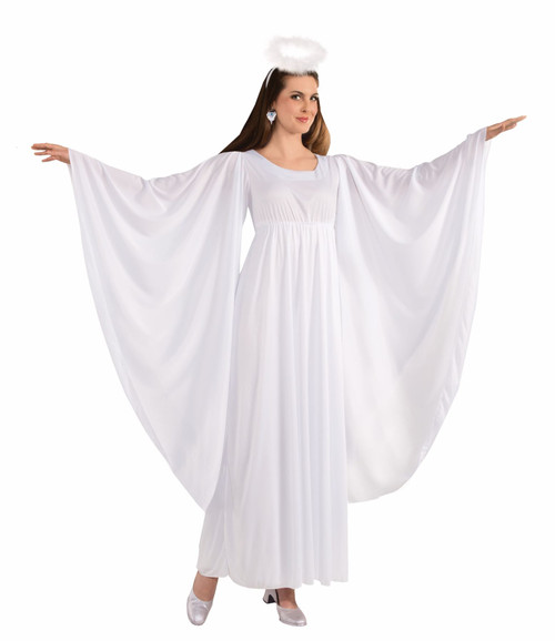 Angel Dress and Halo Costume Standard Size