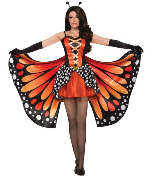Miss Monarch Butterfly adult womens Halloween costume Standard size