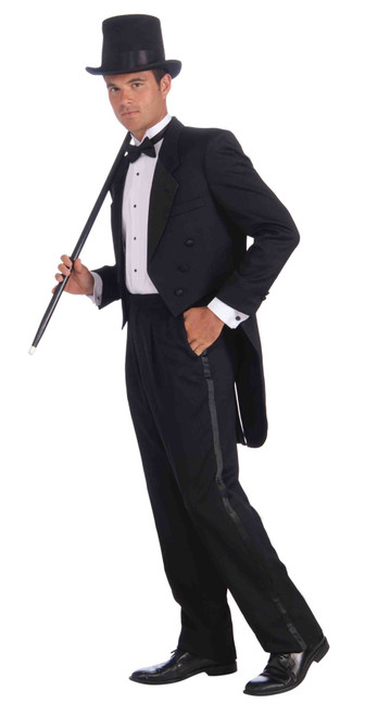 Vintage Hollywood Tuxedo adult mens Halloween Oscars Costume