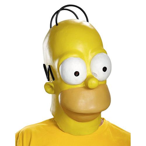 Homer Simpson Mask Adult Funny halloween costume