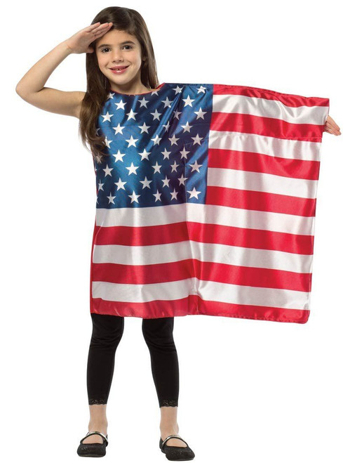 Child USA Flag Dress