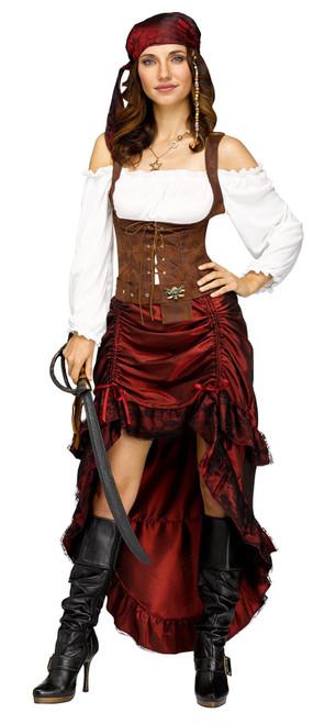 Pirate Queen Adult Womens Halloween Costume