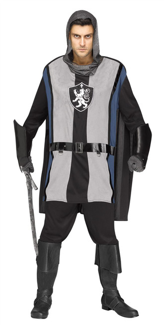 Lionheart Knight Adult Costume One Size