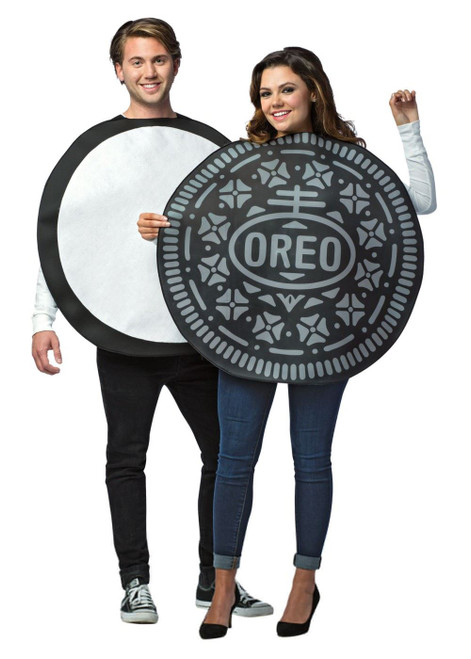 Oreo Cookie Couples Food Costume Officially Licensed Rasta 3714