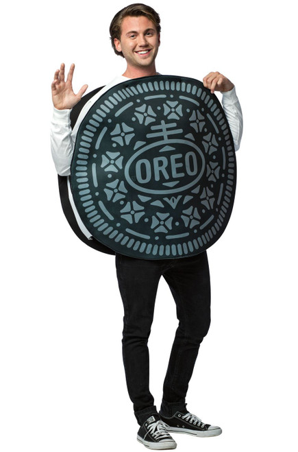 Oreo Cookie Adult Costume One Size Rasta 3713