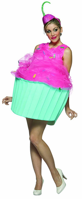 Sweet Eats Cupcake Womens Costume Adult halloween mascot
