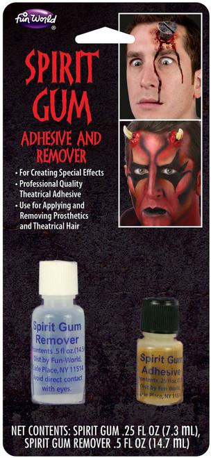 Spirit Gum Adhesive and Remover