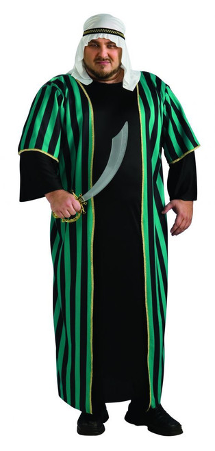 Arab Sheik mens adult Halloween Costume Plus Size