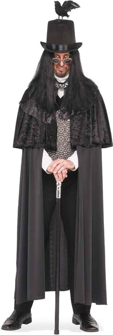 Night Stalker Gothic Jack Ripper adult mens Halloween costume
