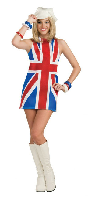 British Invasion UK adult womens Halloween costume