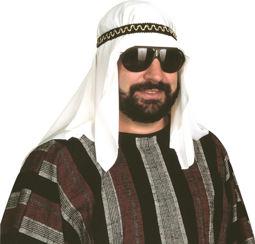Sheik Accessory Hat with Headband Halloween costume adult