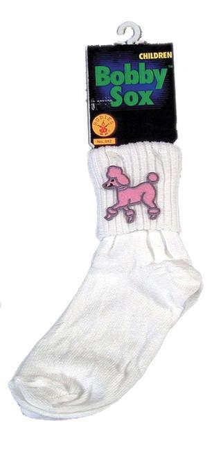 child Bobby Sox Socks 50s Halloween kids girls costume