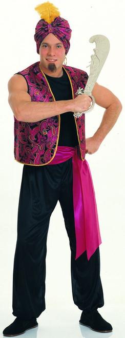 Sultan Arab Genie mens adult Halloween Costume