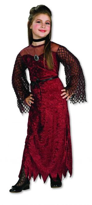 Vampiress Gothic Enchantress kids girls Halloween costume