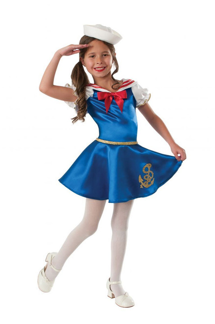 girls Sailor Girl kids girls Halloween costume