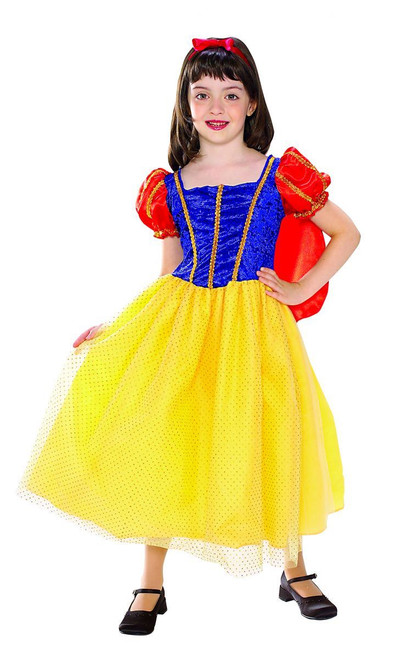 Snow White Cottage Princess kids girls Halloween costume